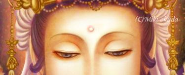【仏画教室】~仏様の描き方~ネット講座 第二回・顔の各パーツの説明