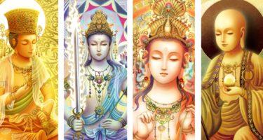 菩薩の種類や特徴を【日本の密教カード】の画像でご紹介します。