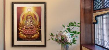 【仏画とは】お寺の仏画とインテリア仏画の違いなど