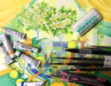 【水彩画に必要な道具は?】これで今日から水彩画スタート!