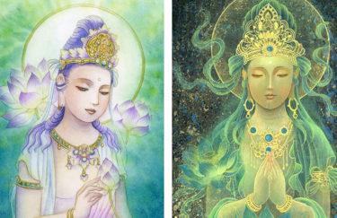 アクリル絵の具と水彩絵の具の違い