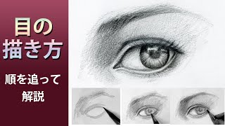 リアルな目の書き方【動画付き】